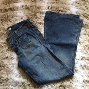 Vtg Abercrombie Flared Jeans Size 10